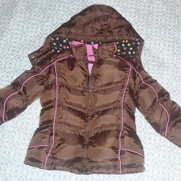 Weather Tamer Other - Hooded puffer jacket for girls, size 5-6